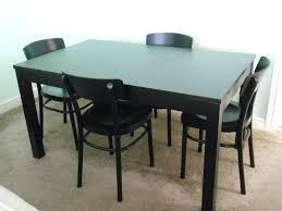 Kitchen Table Black Top
