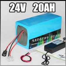 diy 24v 20ah electric bike battery 500w electric bicycle lithium ion battery with bms charger 24v