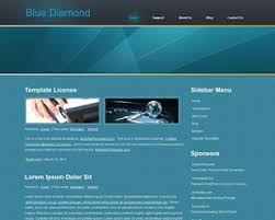 tamplate bluediamond website template bluewebtemplates com