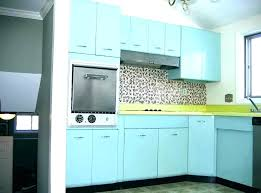 Teal Tile Aqua Blue Kitchen Cabinet Ideas With Mosaic Tiles White ...