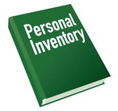 Personal Inventory Personal Inventory Rome Fontanacountryinn Com