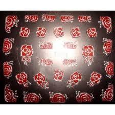 Nehtyprofi Nálepky Na Nehty červené Růže Tj025