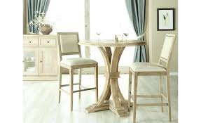 bar height dining table orient express traditions round in stone wash plans
