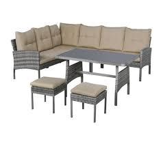 salon de jardin 6 places avec table À