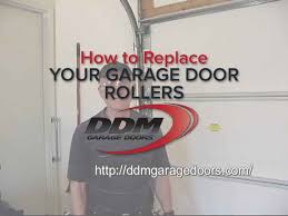 garage door rollersHow to Replace Your Garage Door Rollers  YouTube