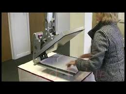 <b>Studio Auto</b> Clam Heat Press Machine Operation - YouTube