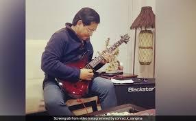 On Camera, Meghalaya Chief Minister Conrad Sangma Strums <b>Iron</b> ...