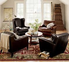 a cozy wooden setup and the rug