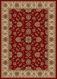 radici rugs 5x7 sofia red