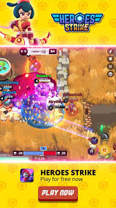 A unique 3v3 combat style made with a perfect balance between fun and depth: Latest Updates From Heroes Strike Facebook
