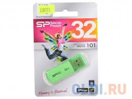 <b>USB</b> флешка <b>Silicon Power Helios</b> 101 32Gb Green ...