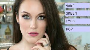 how to make green eyes pop l easy everyday makeup tutorial l the beauty majlis