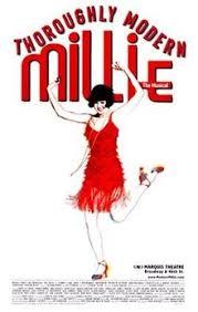 thoroughly modern millie broadway. Fine Millie Thoroughly Modern Millie Modernmillieposterjpg Original Broadway  Windowcard To Millie R