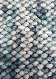 felted wool rug view truffles blue product image rugs uk felted wool rug