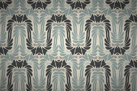 free art nouveau style seamless wallpaper patterns