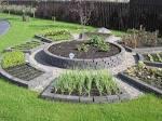 Декоративный огород в дизайне сада фото