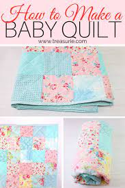 a baby quilt easy beginners quilt