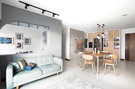Small Picture HDB 4RmYishun KitchenDining Room Home Decor Singapore ID