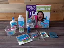 craft city diy slime kit