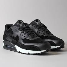nike shoes air max black 90. premium shoes; nike air max 90 \u0027rebel skulls\u0027 shoes black s