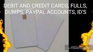 cloned card s dumps fulls paypal accounts dark web escrow