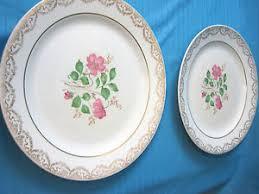 1950'S Dinnerware Patterns Stunning Cosmopolitan China Dinner Plates 48's Annabelle 4848 Pattern 48K