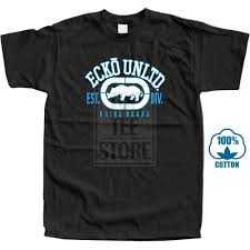 Ecko Unltd Mens Rhino Remains Tee Shirt Western Style Print