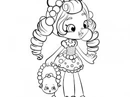Printable Coloring Pages For Girls Shopkins Download