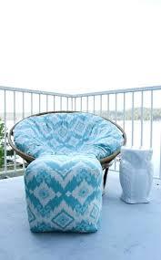 diy papasan chair how to recover a cushion cover tutorial at diy papasan chair