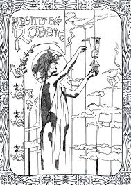 Art Nouveau Coloring Pages For Adults Justcolor