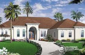 one bedroom house plans with garage. whitehurst 4 bedroom mediteranean with 10\u0027 ceilngs and triple garage - w3255 one house plans o