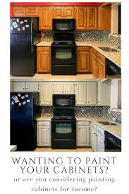 How To Paint Kitchen Cabinets Diy Kitchen Cabinet Painting How To