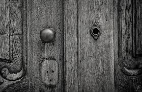 door lock and key black and white. Door Keyhole Design Lock Key Doorway Enter And Black White I
