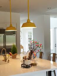 yellow pendant lighting. Featured Customer | Industrial Pendant Lighting Pops In New Texas Home Yellow