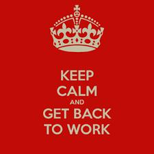 Afbeeldingsresultaat voor get back to work
