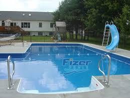 fresh pool water slides for inground pools with waterslides0 inground