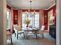 ... bow window treatments dining room ...