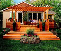 wood patio ideas. About Deck Ideas Wood Decks Two Level 2017 And For Small Yards Inspirations Patio