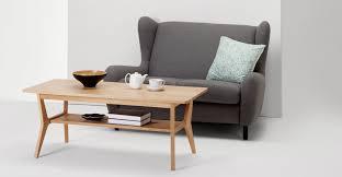 Jenson <b>Coffee Table</b>, <b>Solid</b> Oak | MADE.com