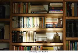 Books On A Bookshelf  Stock Image