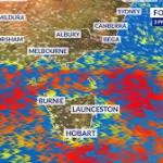 Wild winds whip up rain and bushfires across southeast