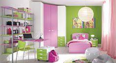 bedrooms for girls green. Contemporary Girls Girls Bedroom Splendid Image Of Pink Green Girl Bedroom  On Bedrooms For H