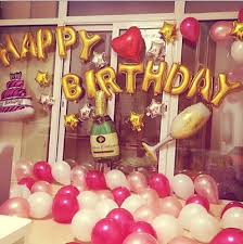 Best Happy Birthday Party Theme Deco Balloon Set Children New Born Baby Boy Girl Adult Hello Kitty