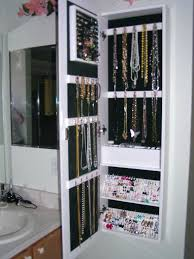 jewelry wall mount how to make a mounted for greatest armoire 45 lighted mo