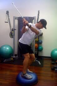 allenamento con il bosu