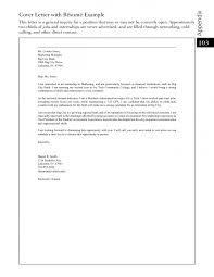 General Resume Cover Letter Examples Jospar
