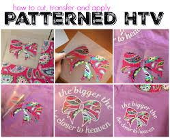 Patterned Htv Vinyl