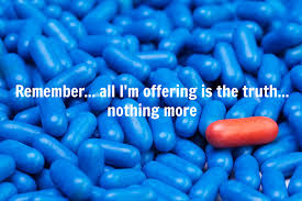 Image result for images red pill or blue pill