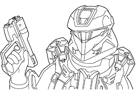 Small Picture halo 4 coloring pictures March Calendar 2017