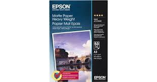 <b>Epson Matte Paper</b> Heavy Weight 167g <b>A3</b> 50 • See Price